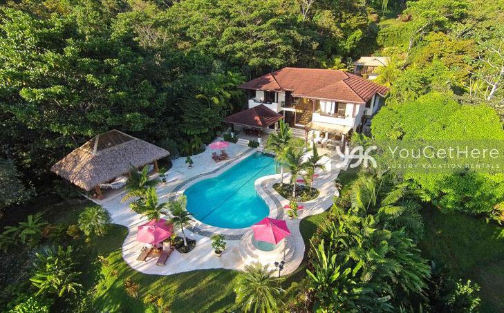 Luxury house rental in Costa Rica - Dominical-LaLibelula