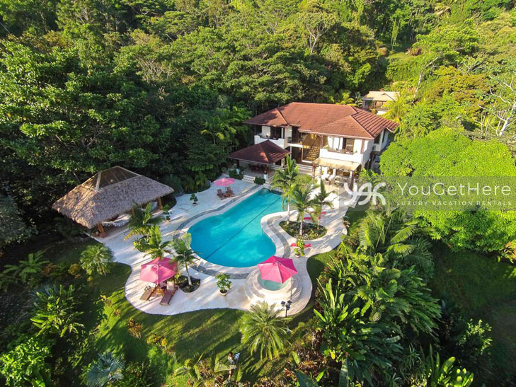 Luxury house rental in Costa Rica - Dominical-LaLibelula