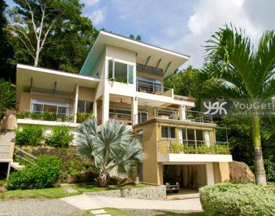 House rentals in Costa Rica Dominical - Casa Tangaroa