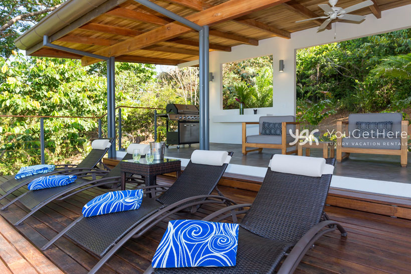 Luxury Vacation Rental-Dominical-Costa Rica-Tres Perlas