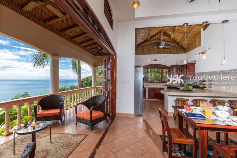 Beach House Rentals-Dominical-Costa Rica-San-Martin-Mirador