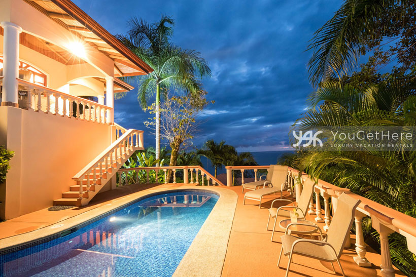 Costa Rica Beach House Rentals-Dominical-Costa Rica-San-Martin-Mirador
