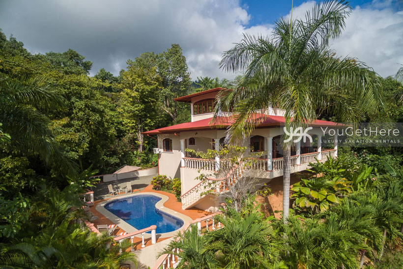 Luxury rental home dominical costa rica san martin mirador for Luxury rentals in costa rica