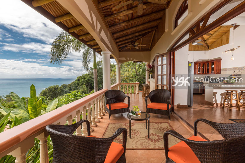 Vacation Rentals-Dominical-Costa Rica-San-Martin-Mirador