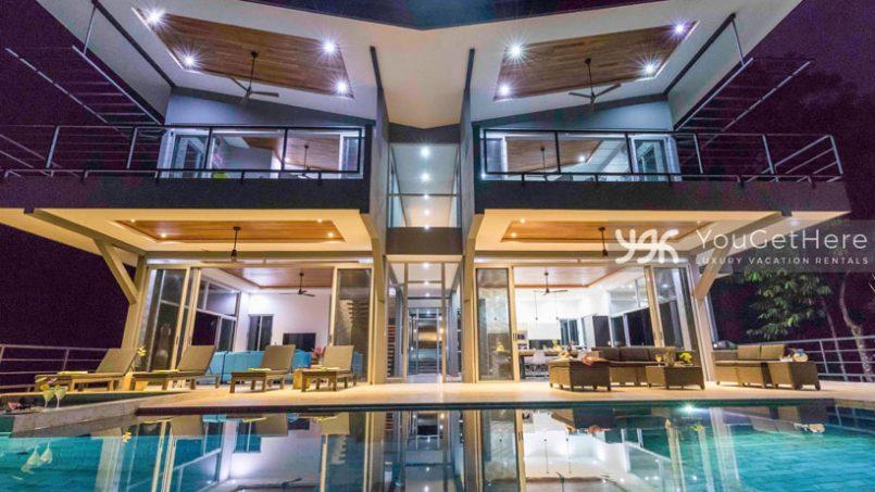 Luxury house rental in Costa Rica - Gema Escondida Uvita