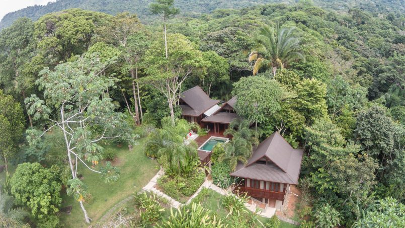 New Balinese style home in the middle of the jungle, minutes from the beach…