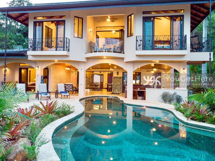 Vacation homes in Dominical Costa Rica